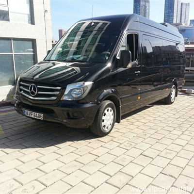 mercedes sprinter vip black edition