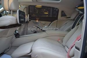 Mercedes Maybach S 500 Araç İçi